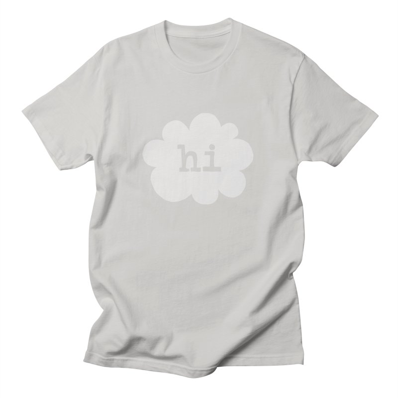 Cloud Hi (Fog) Women's Unisex T-Shirt by Hi Hello Greetings