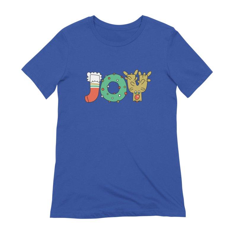 JOY (Christmas) Women's T-Shirt by Hi Hello Greetings