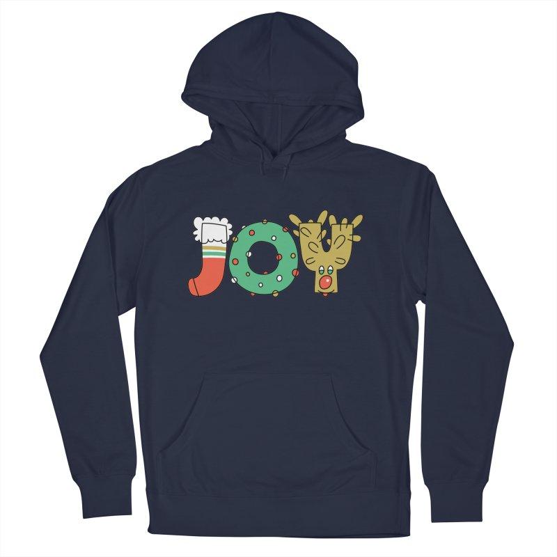 JOY (Christmas) Men's Pullover Hoody by Hi Hello Greetings