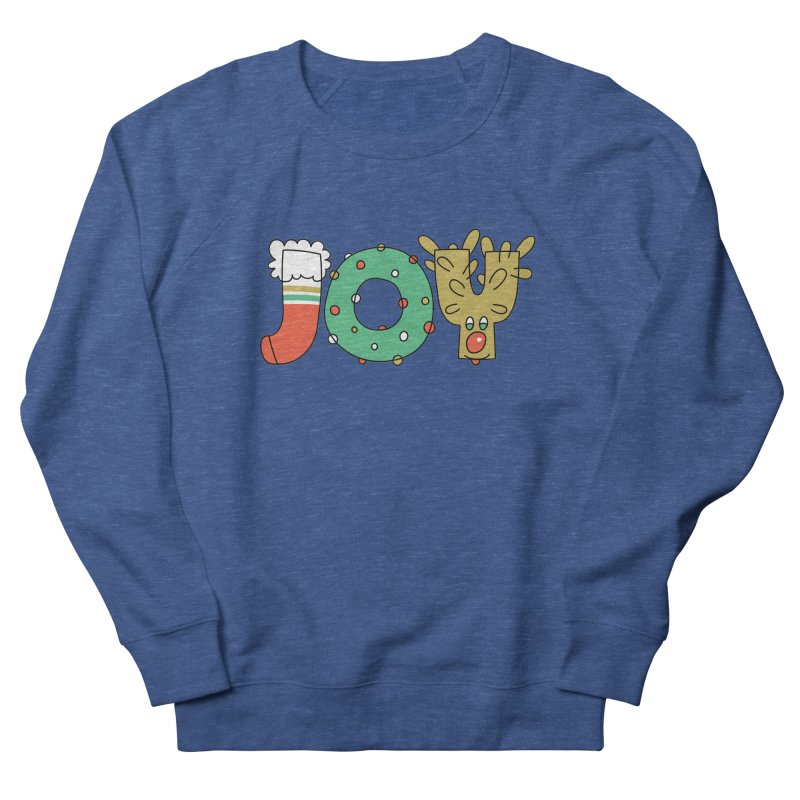 JOY (Christmas) Men's Sweatshirt by Hi Hello Greetings