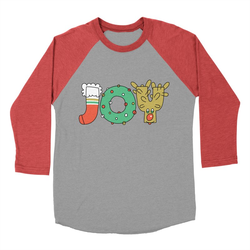 JOY (Christmas) Men's Longsleeve T-Shirt by Hi Hello Greetings