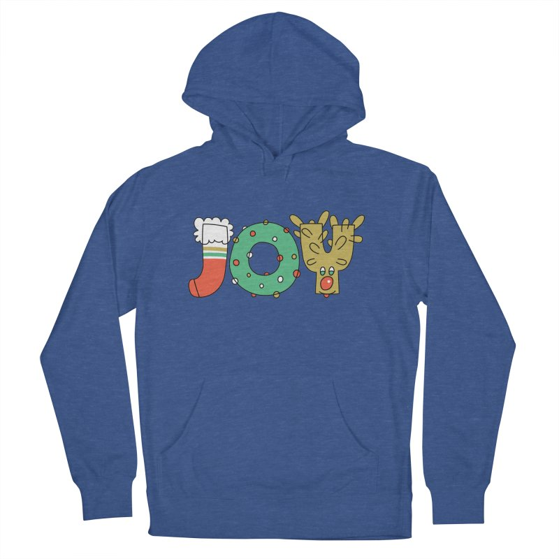 JOY (Christmas) Women's French Terry Pullover Hoody by Hi Hello Greetings