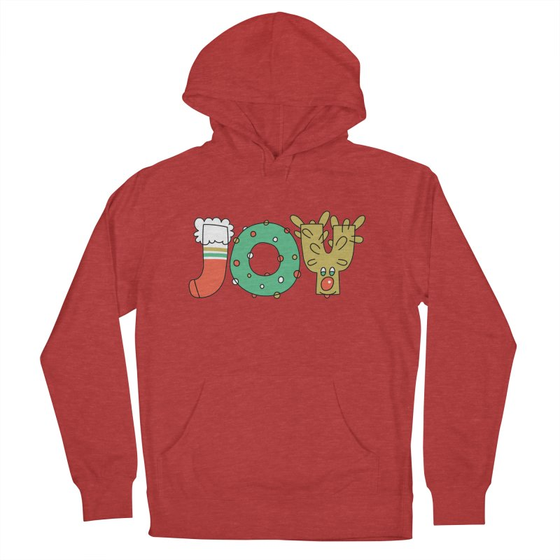 JOY (Christmas) Women's Pullover Hoody by Hi Hello Greetings
