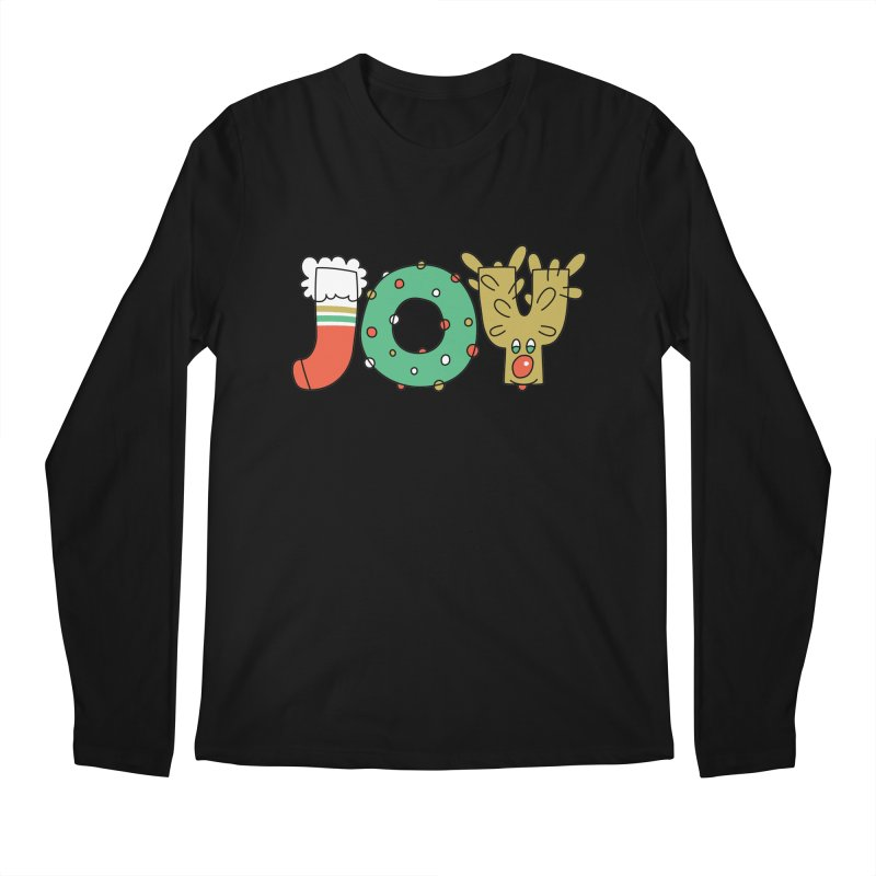 JOY (Christmas) Men's Longsleeve T-Shirt by Hi Hello Greetings