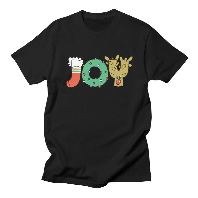 JOY (Christmas) Women's Unisex T-Shirt by Hi Hello Greetings