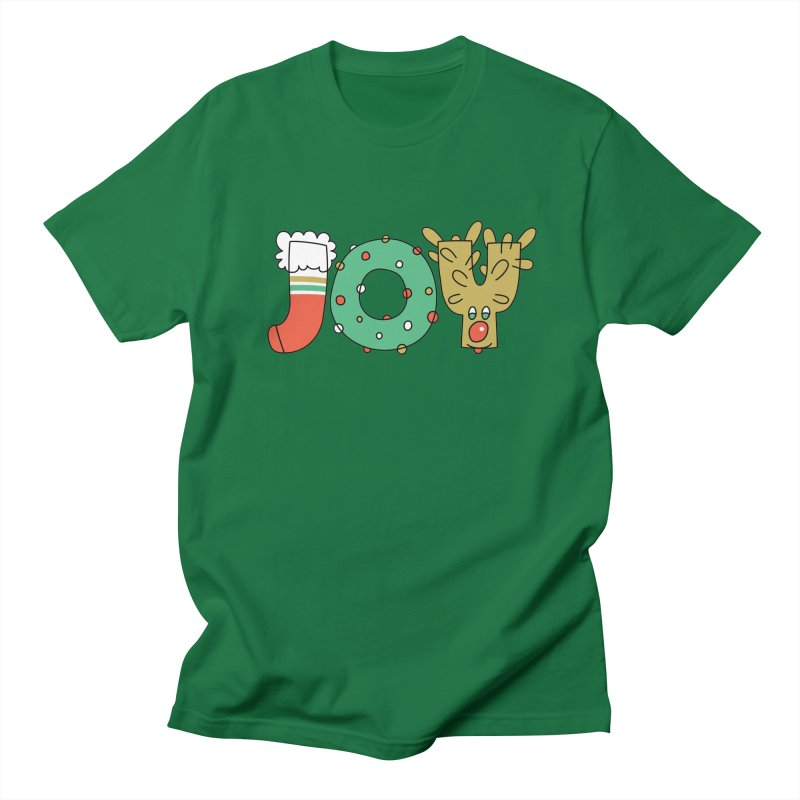 JOY (Christmas) Men's T-Shirt by Hi Hello Greetings