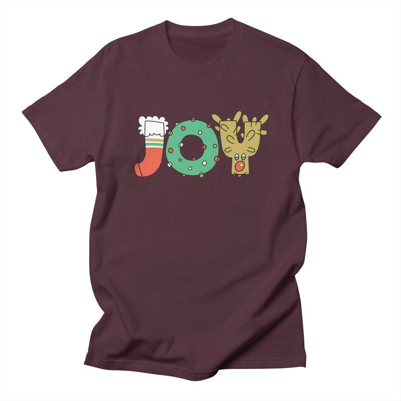 JOY (Christmas) Women's Regular Unisex T-Shirt by Hi Hello Greetings