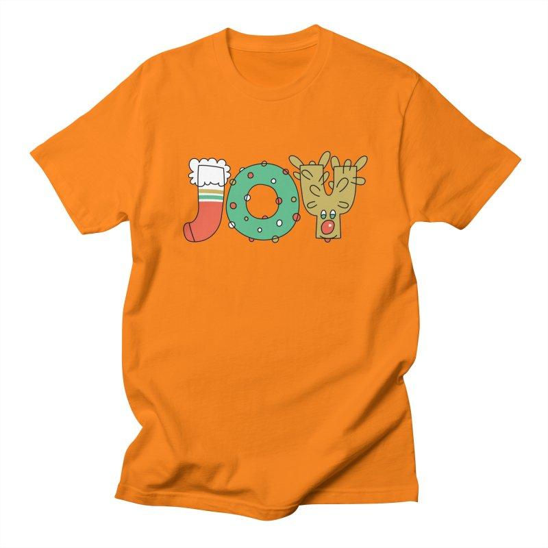 JOY (Christmas) Men's T-Shirt by Hi Hello Greetings