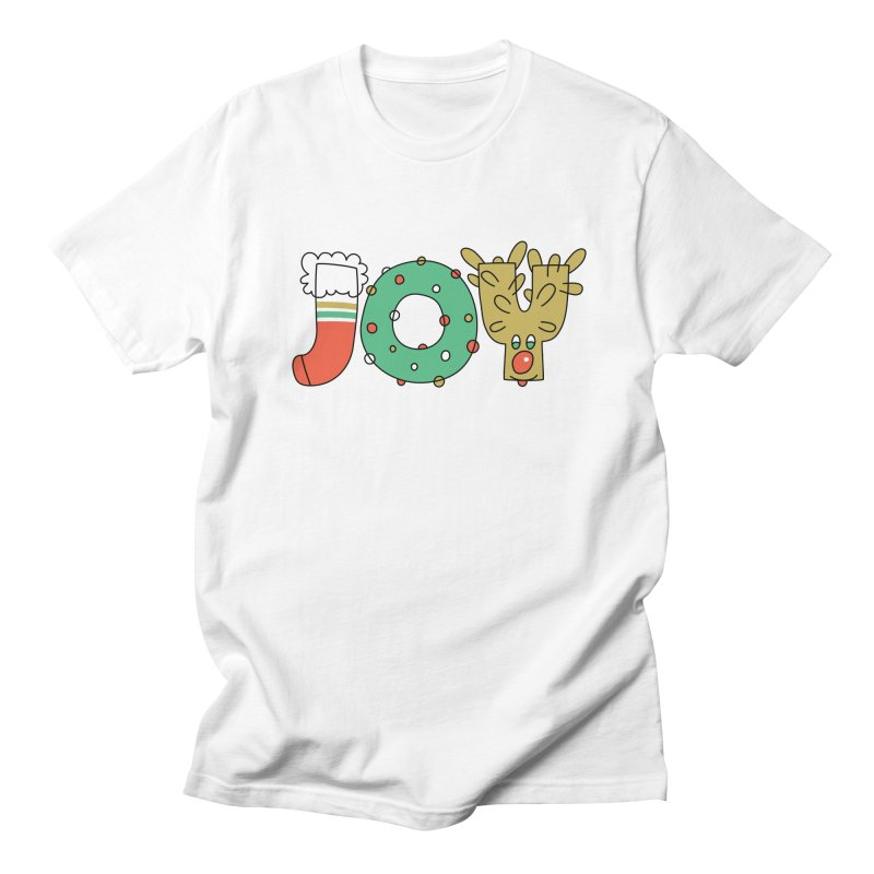 JOY (Christmas) Women's Regular Unisex T-Shirt by Hi Hello Greetings
