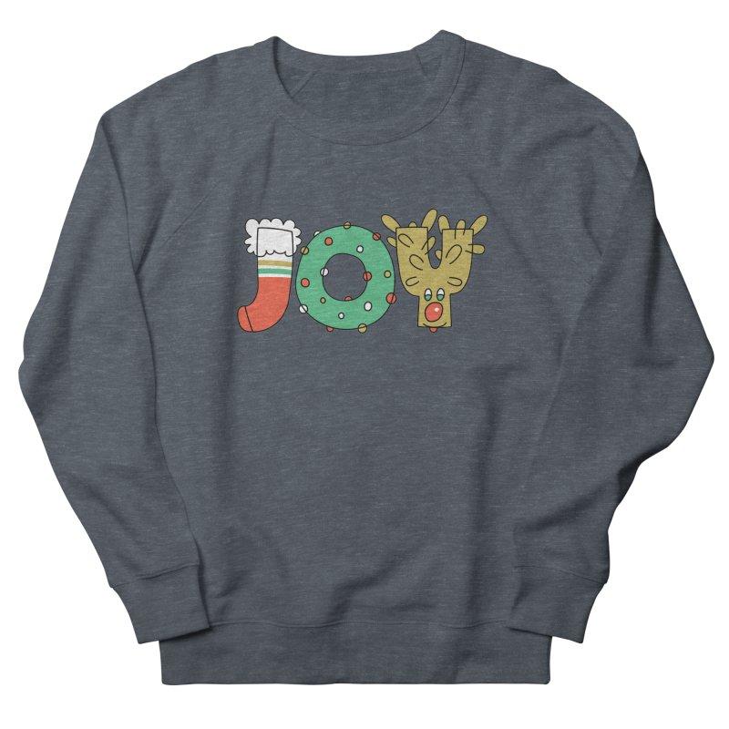 JOY (Christmas) Women's French Terry Sweatshirt by Hi Hello Greetings
