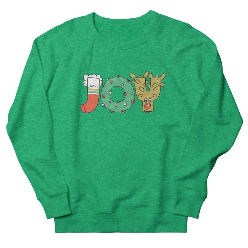 JOY (Christmas) Men's French Terry Sweatshirt by Hi Hello Greetings