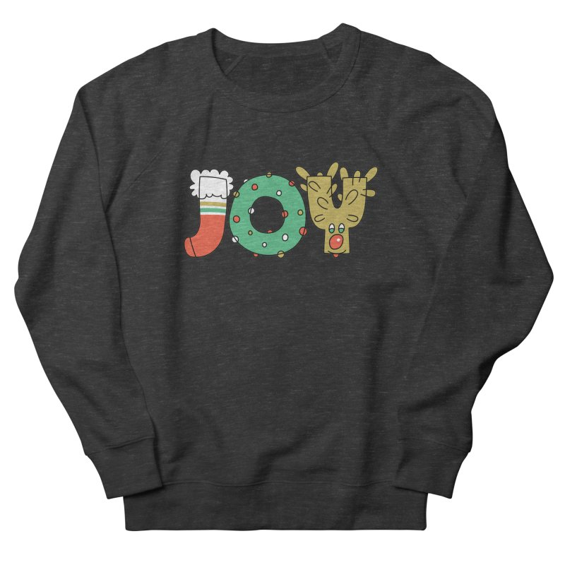 JOY (Christmas) Men's Sweatshirt by Hi Hello Greetings
