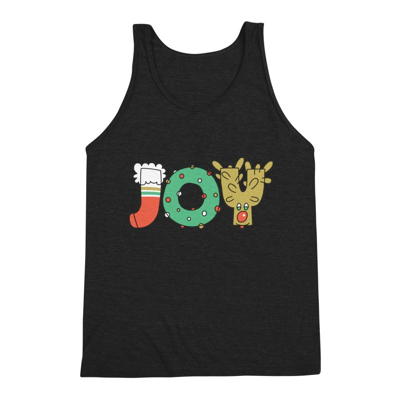 JOY (Christmas) Men's Tank by Hi Hello Greetings