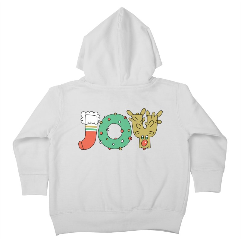 JOY (Christmas) Kids Toddler Zip-Up Hoody by Hi Hello Greetings