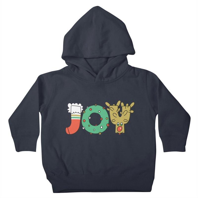 JOY (Christmas) Kids Toddler Pullover Hoody by Hi Hello Greetings
