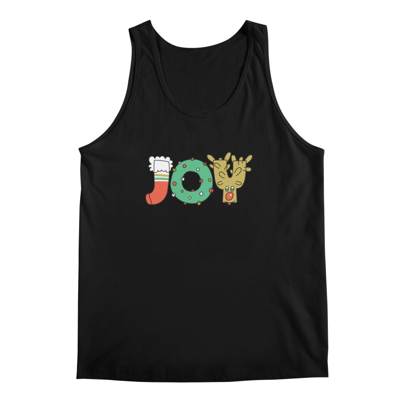 JOY (Christmas) Men's Regular Tank by Hi Hello Greetings
