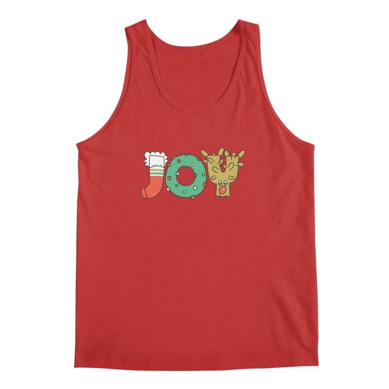 JOY (Christmas) Men's Regular Tank by Hi Hello Greetings