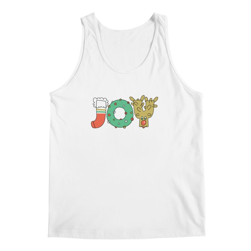 JOY (Christmas) Men's Tank by Hi Hello Greetings