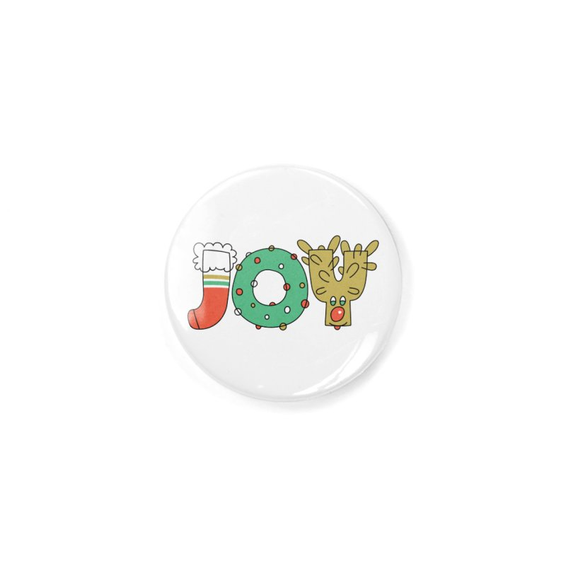 JOY (Christmas) Accessories Button by Hi Hello Greetings