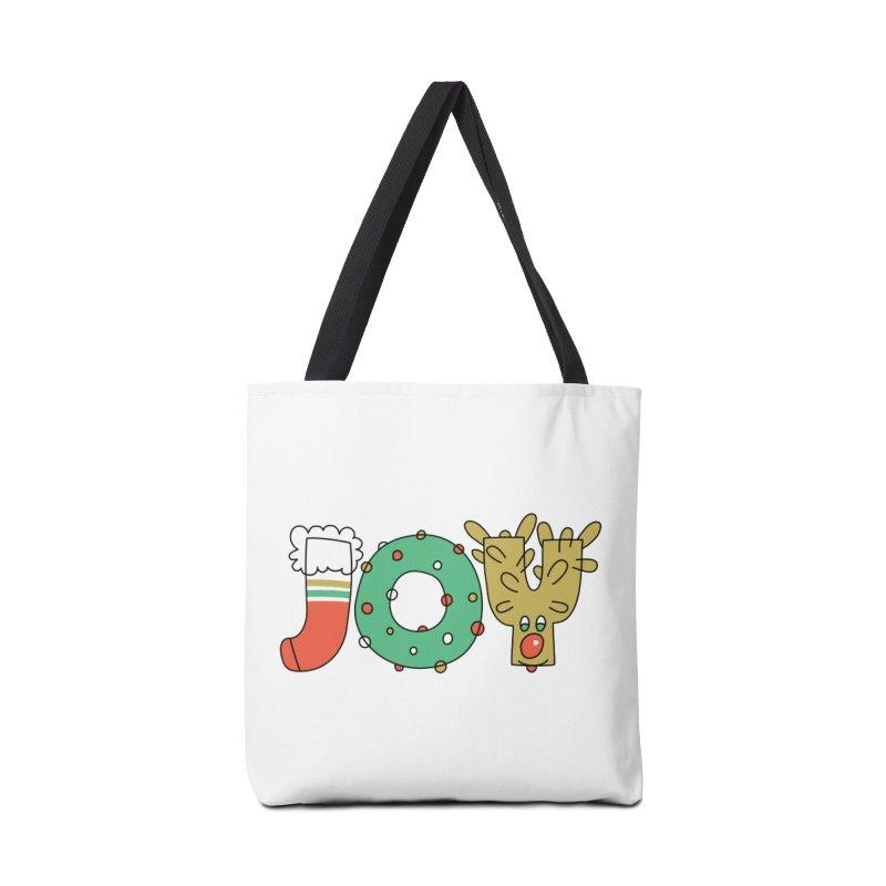 JOY (Christmas) Accessories Tote Bag Bag by Hi Hello Greetings