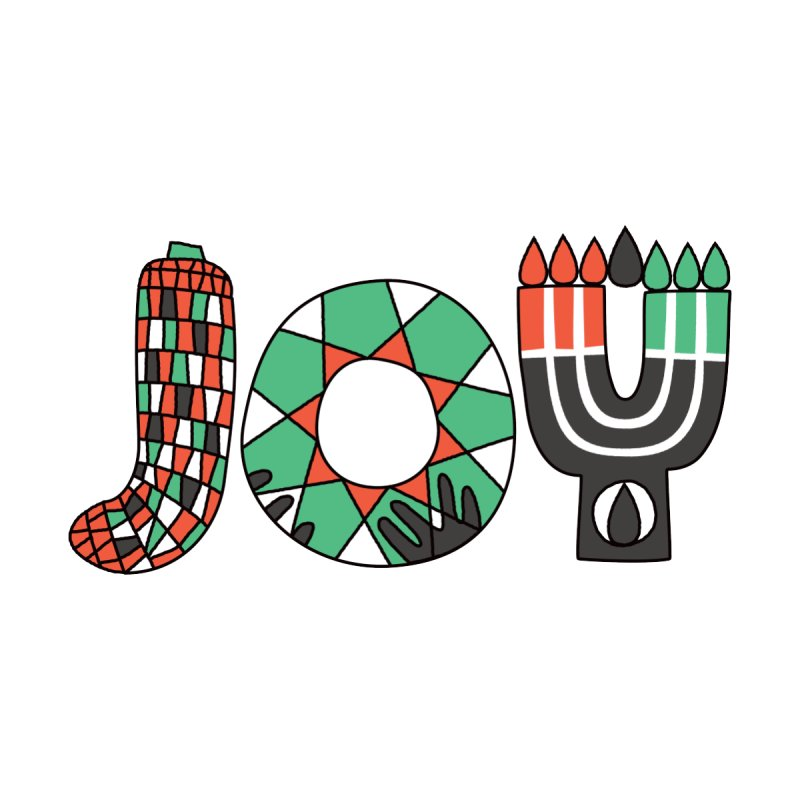 JOY (Kwanzaa) by Hi Hello Greetings