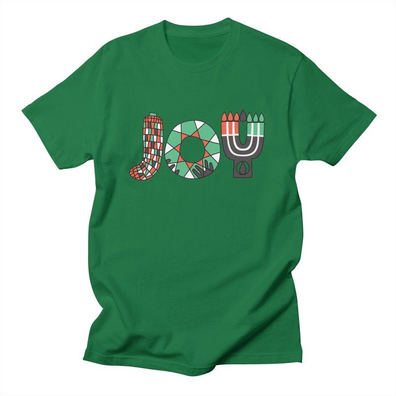 JOY (Kwanzaa) Men's T-Shirt by Hi Hello Greetings