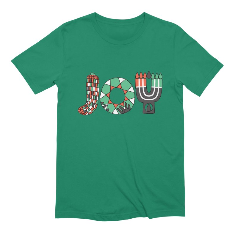 JOY (Kwanzaa) Men's Extra Soft T-Shirt by Hi Hello Greetings