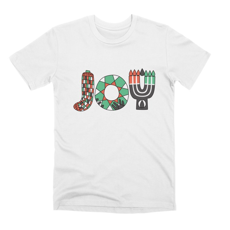 JOY (Kwanzaa) Men's Premium T-Shirt by Hi Hello Greetings