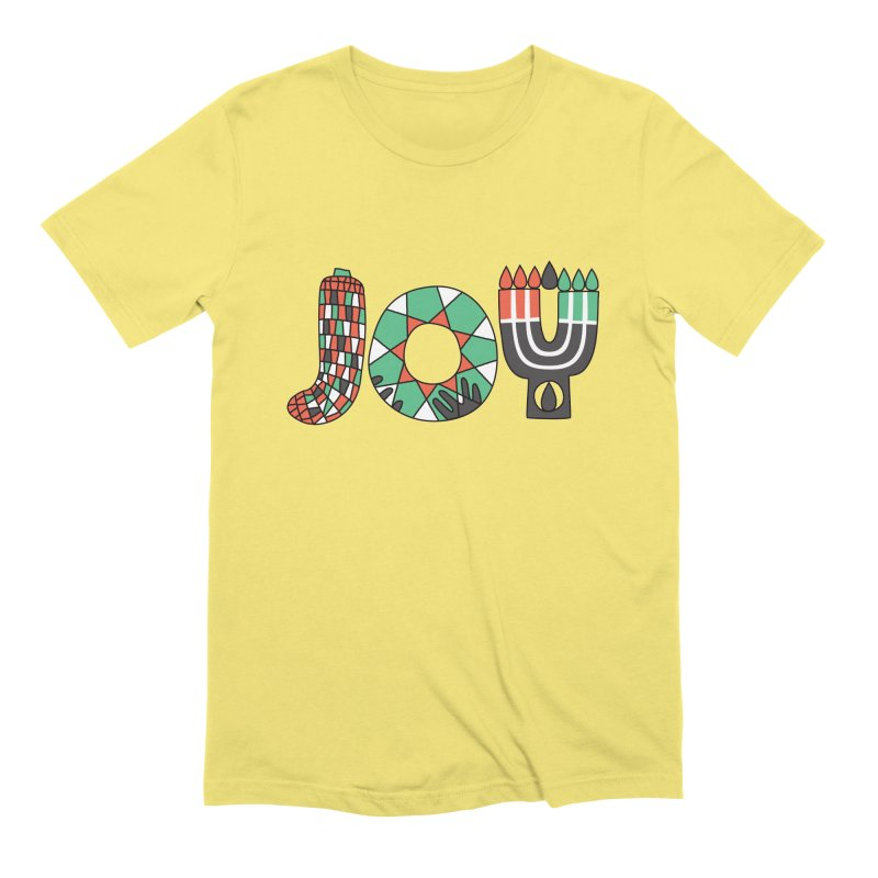 JOY (Kwanzaa) Men's Extra Soft T-Shirt by Hi Hello Greetings