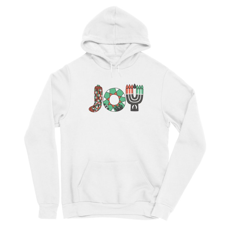 JOY (Kwanzaa) Men's Sponge Fleece Pullover Hoody by Hi Hello Greetings