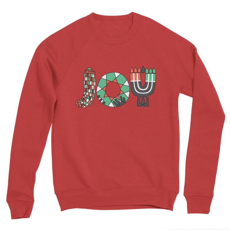 JOY (Kwanzaa) Men's Sponge Fleece Sweatshirt by Hi Hello Greetings