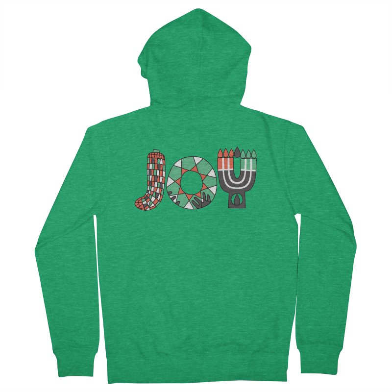 JOY (Kwanzaa) Men's Zip-Up Hoody by Hi Hello Greetings