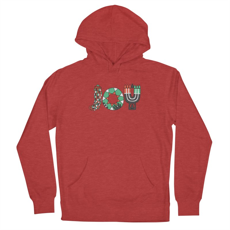 JOY (Kwanzaa) Men's French Terry Pullover Hoody by Hi Hello Greetings