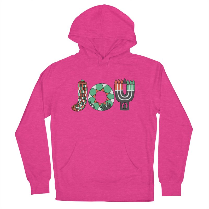 JOY (Kwanzaa) Women's Pullover Hoody by Hi Hello Greetings