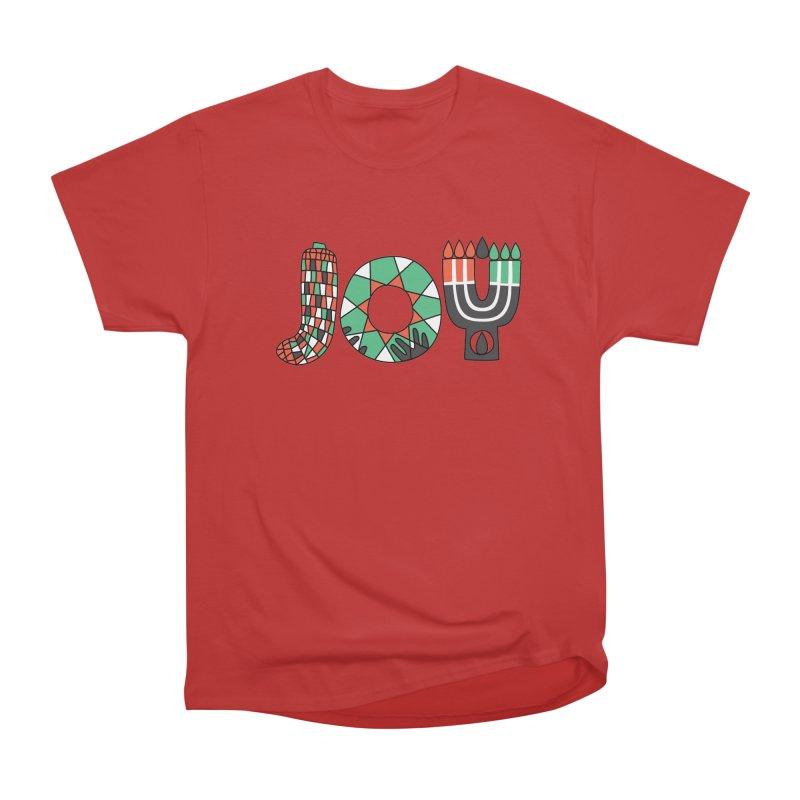 JOY (Kwanzaa) Women's Heavyweight Unisex T-Shirt by Hi Hello Greetings