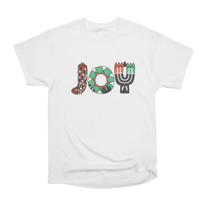 JOY (Kwanzaa) Women's Heavyweight Unisex T-Shirt by Hi Hello Greetings