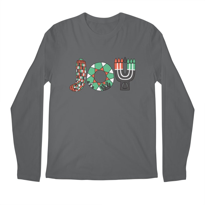 JOY (Kwanzaa) Men's Regular Longsleeve T-Shirt by Hi Hello Greetings