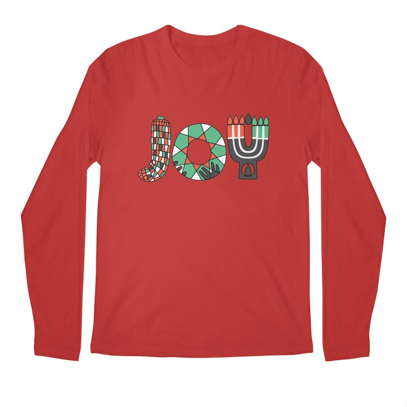 JOY (Kwanzaa) Men's Regular Longsleeve T-Shirt by Hi Hello Greetings