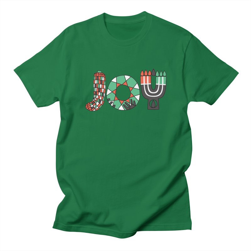 JOY (Kwanzaa) Women's Regular Unisex T-Shirt by Hi Hello Greetings