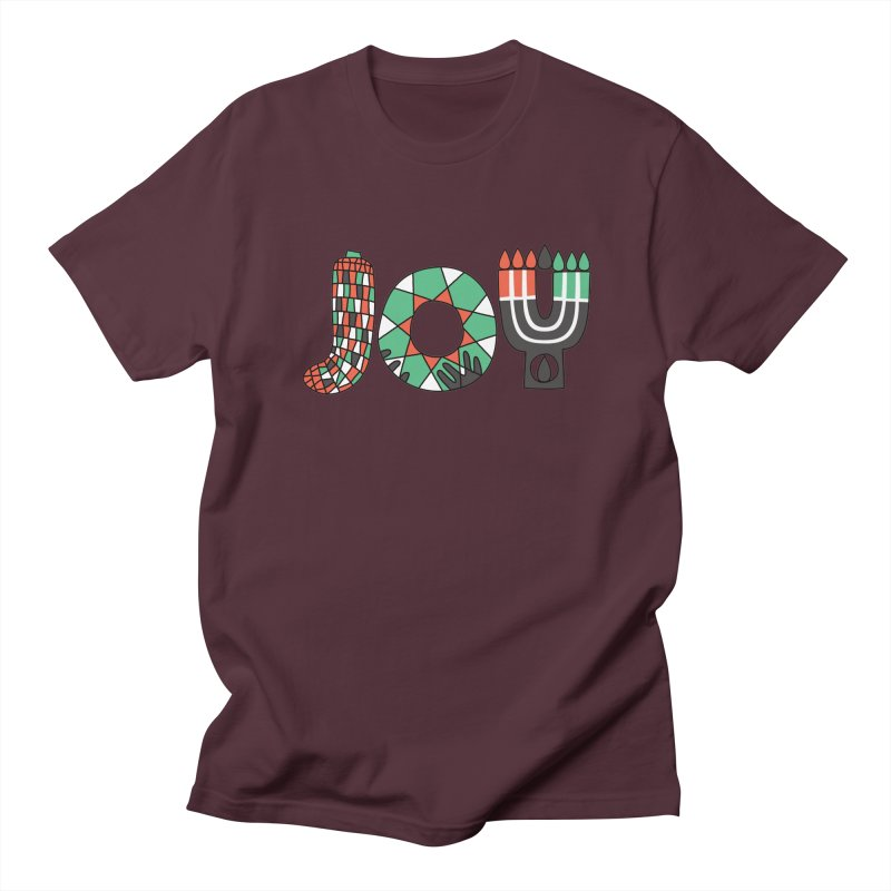JOY (Kwanzaa) Men's Regular T-Shirt by Hi Hello Greetings