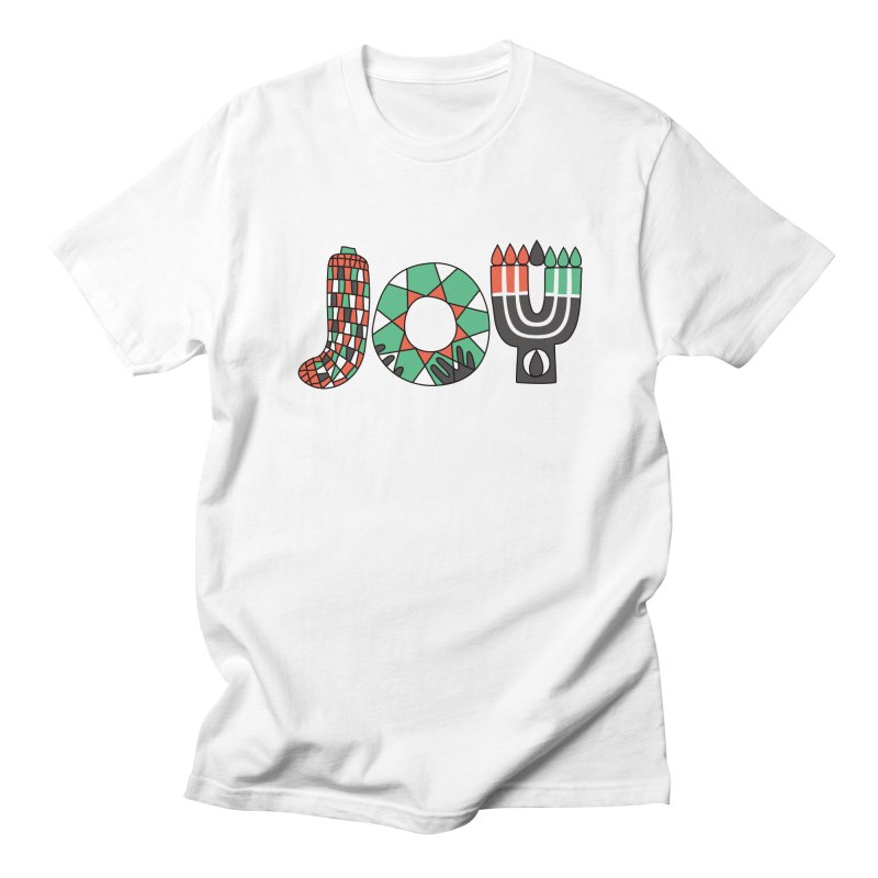 JOY (Kwanzaa) Men's Regular T-Shirt by Hi Hello Greetings