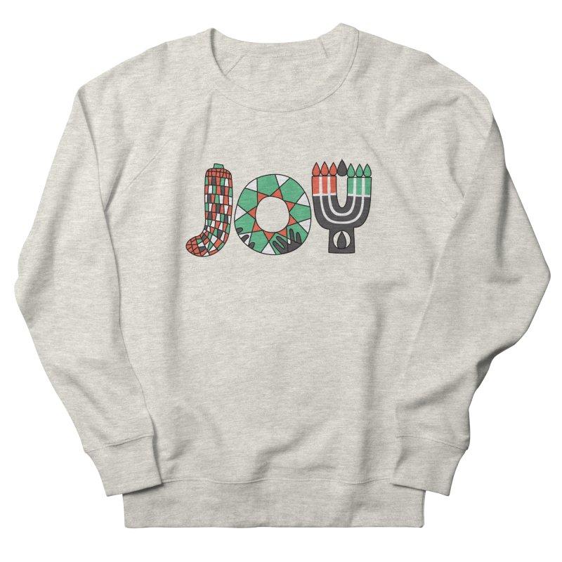 JOY (Kwanzaa) Women's French Terry Sweatshirt by Hi Hello Greetings