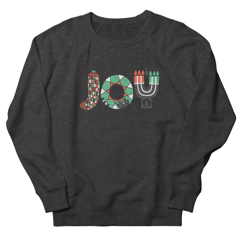 JOY (Kwanzaa) Men's French Terry Sweatshirt by Hi Hello Greetings