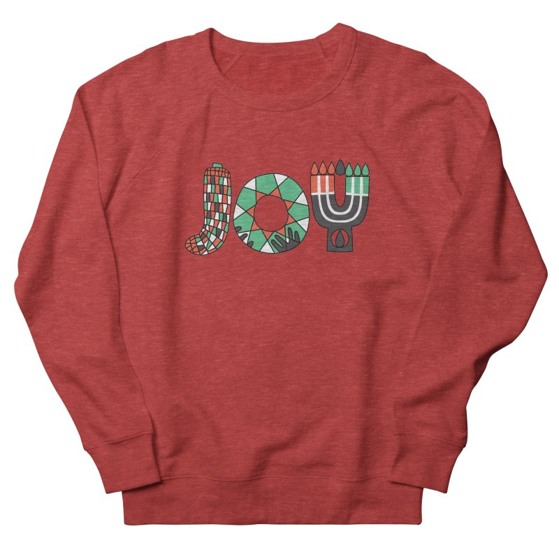 JOY (Kwanzaa) Men's French Terry Sweatshirt by Hi Hello Greetings