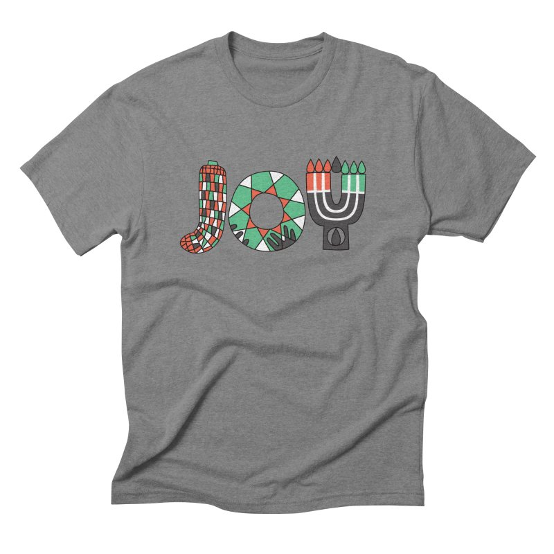 JOY (Kwanzaa) Men's Triblend T-Shirt by Hi Hello Greetings