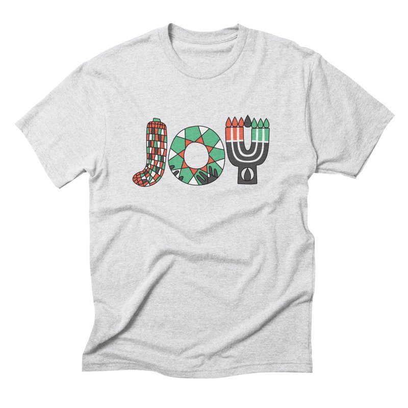 JOY (Kwanzaa) Men's Triblend T-Shirt by Hi Hello Greetings