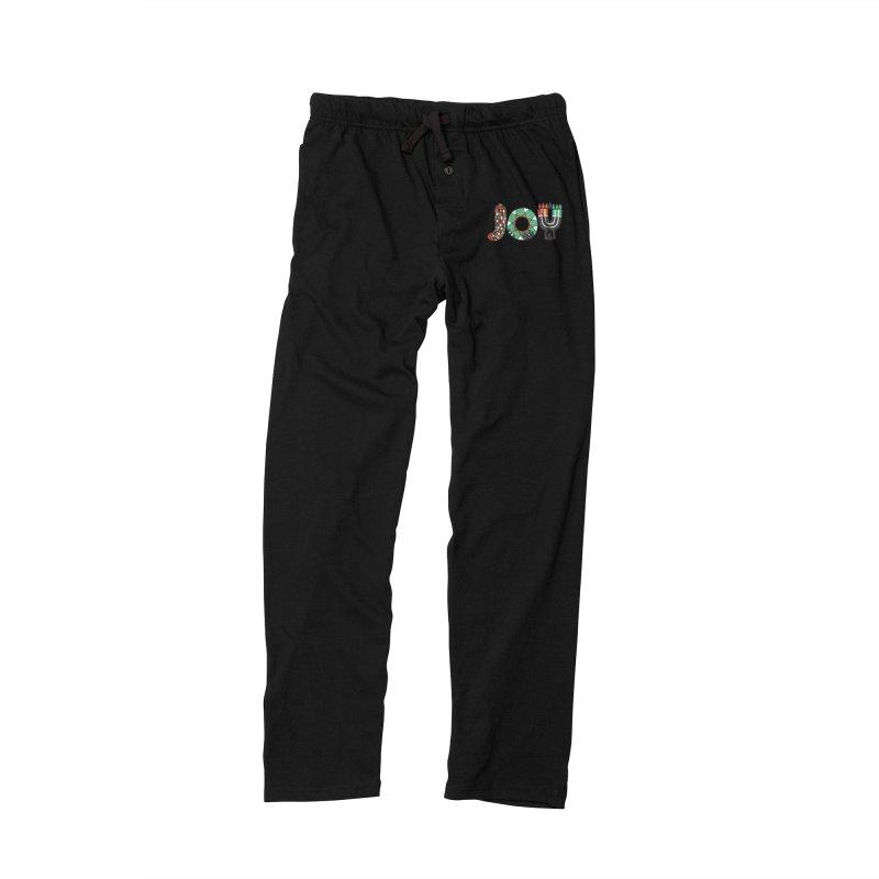 JOY (Kwanzaa) Men's Lounge Pants by Hi Hello Greetings