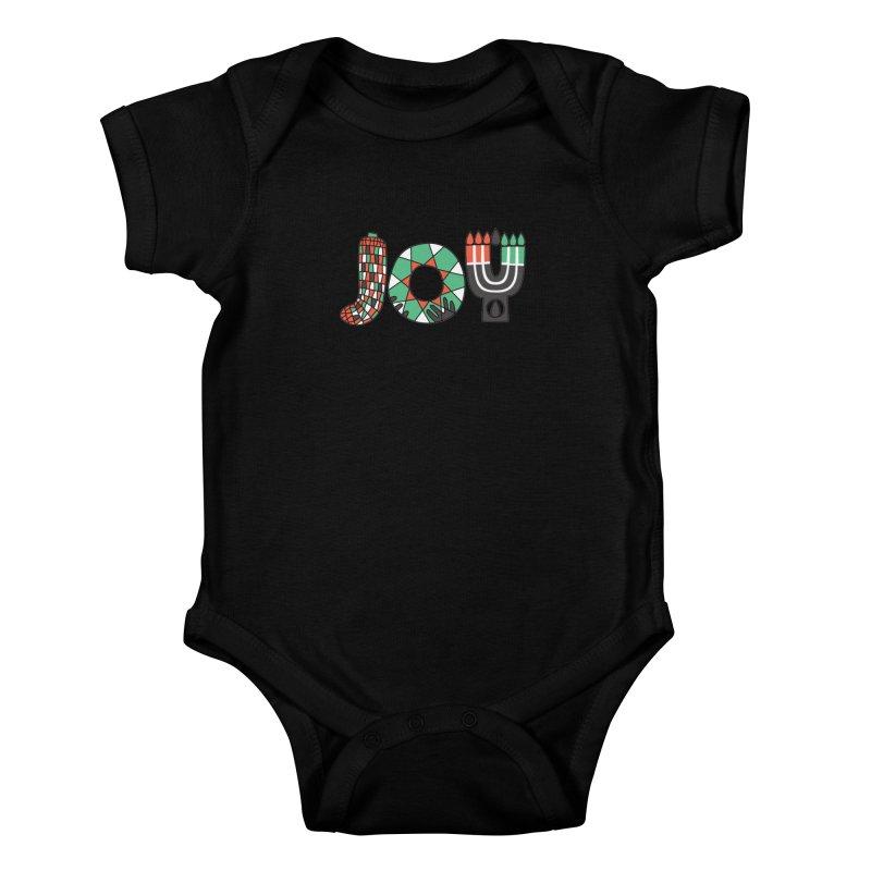JOY (Kwanzaa) Kids Baby Bodysuit by Hi Hello Greetings