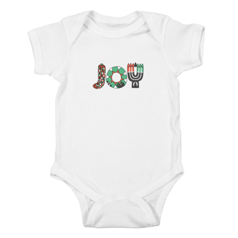 JOY (Kwanzaa) Kids Baby Bodysuit by Hi Hello Greetings