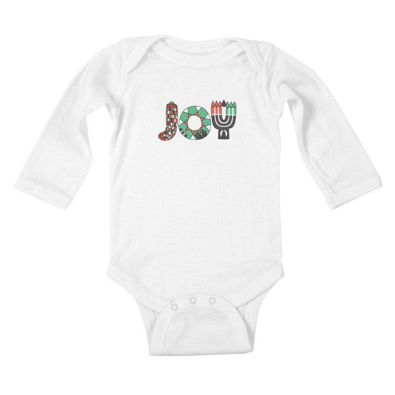 JOY (Kwanzaa) Kids Baby Longsleeve Bodysuit by Hi Hello Greetings